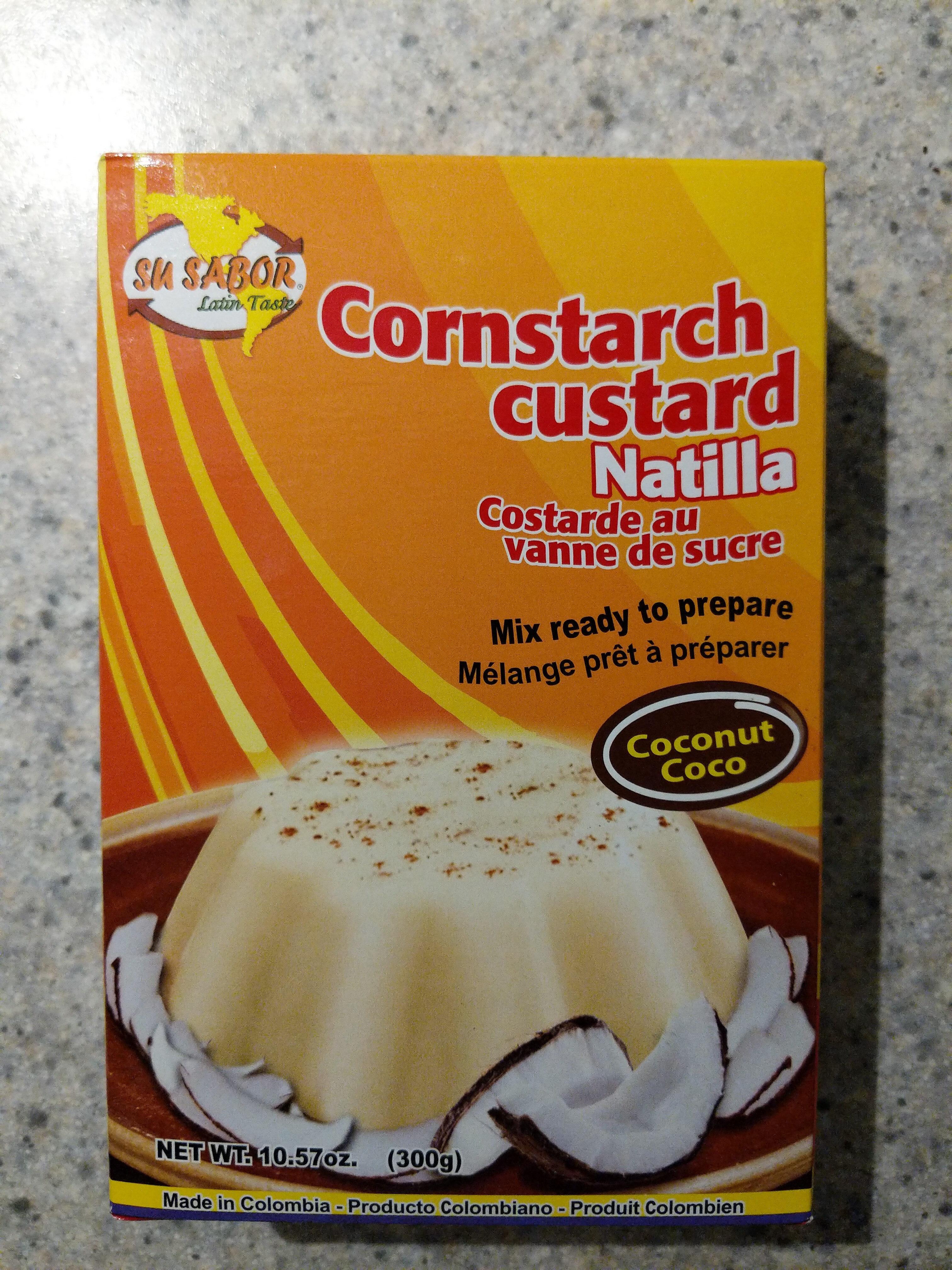 Cornstarch Custard Natilla Coconut - Produit - en