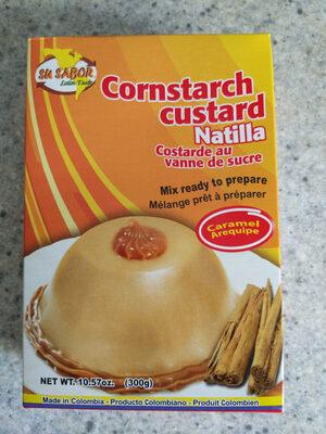 Cornstarch Custard Natilla Caramel - Produit - en