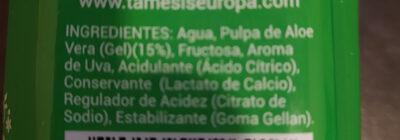TAMESIS ALOE VERA - Ingredients - es