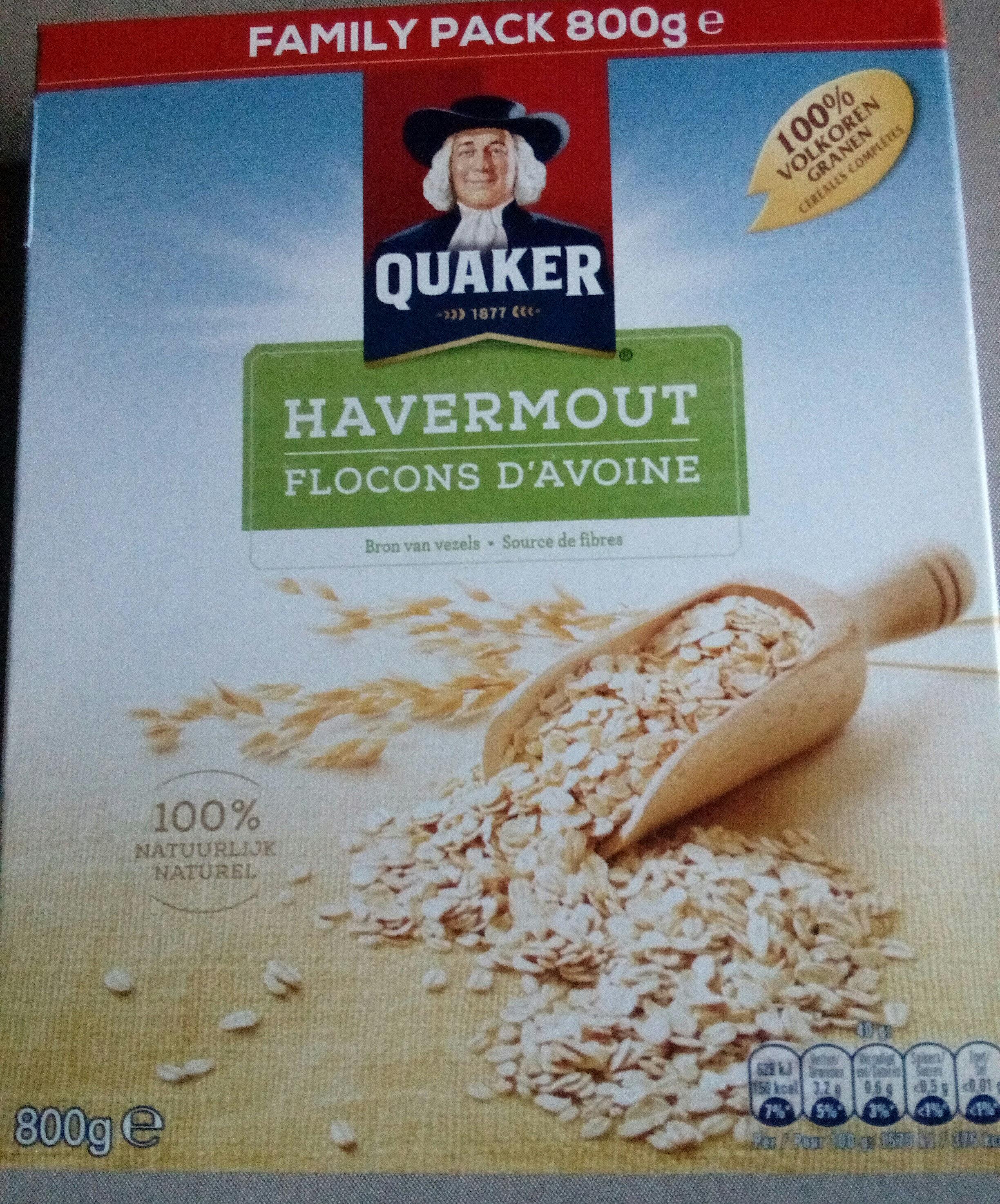 quaker havermout gluten