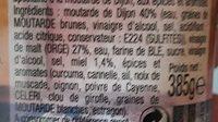 SAVORA - Ingrediënten - fr