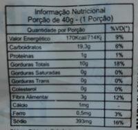 Inhame - Informação nutricional - pt