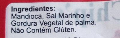 Mandioca - Ingredientes - pt