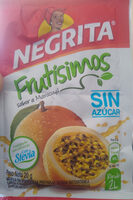 Negrita Frutisimos con Stevia - Product - es