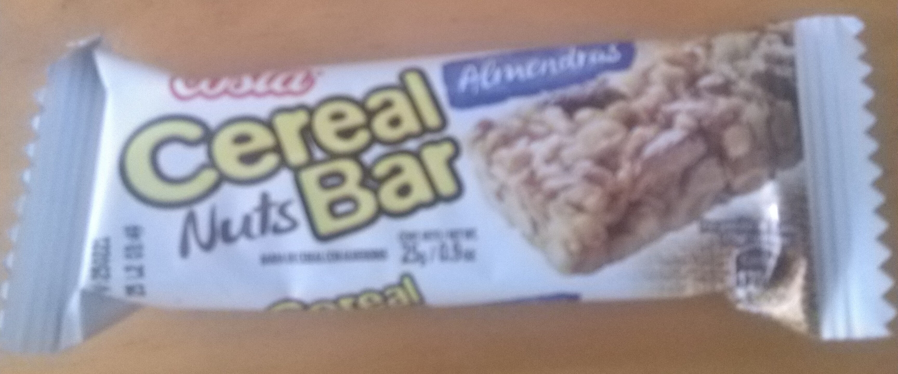 Cereal Bar Nuts Almendras - Product - es