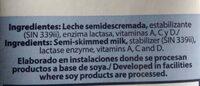Leche descremada sin lactosa - Ingredientes - es