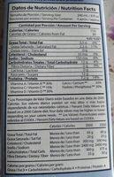 Leche descremada sin lactosa - Información nutricional - es
