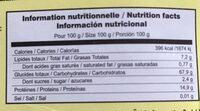 Copos Quinoa Eco - Ingredients