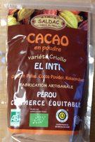 Cacao en poudre varieté Criollo - Product