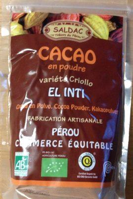 Cacao en poudre varieté Criollo - Produit