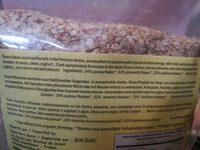 Flocons de Quinoa - Ingrédients - fr