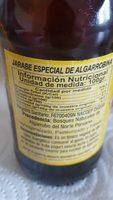 Algarrobina - Ingrédients - fr