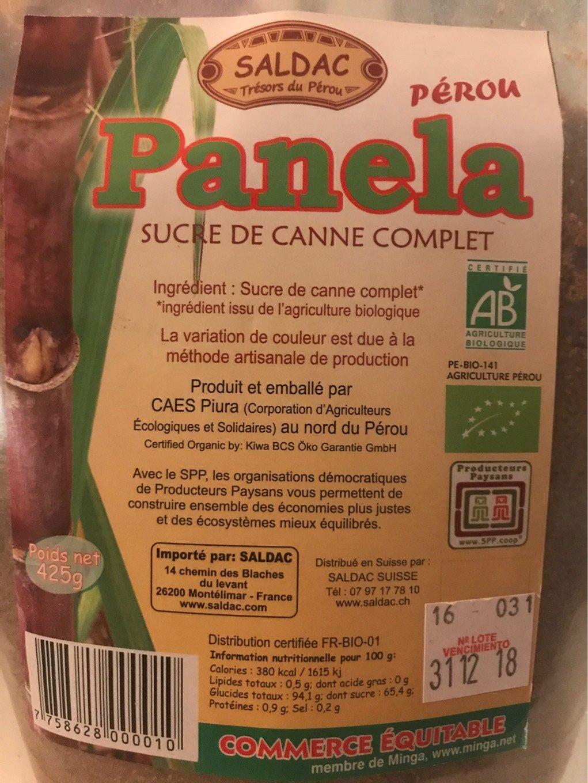Panela - Produit - fr