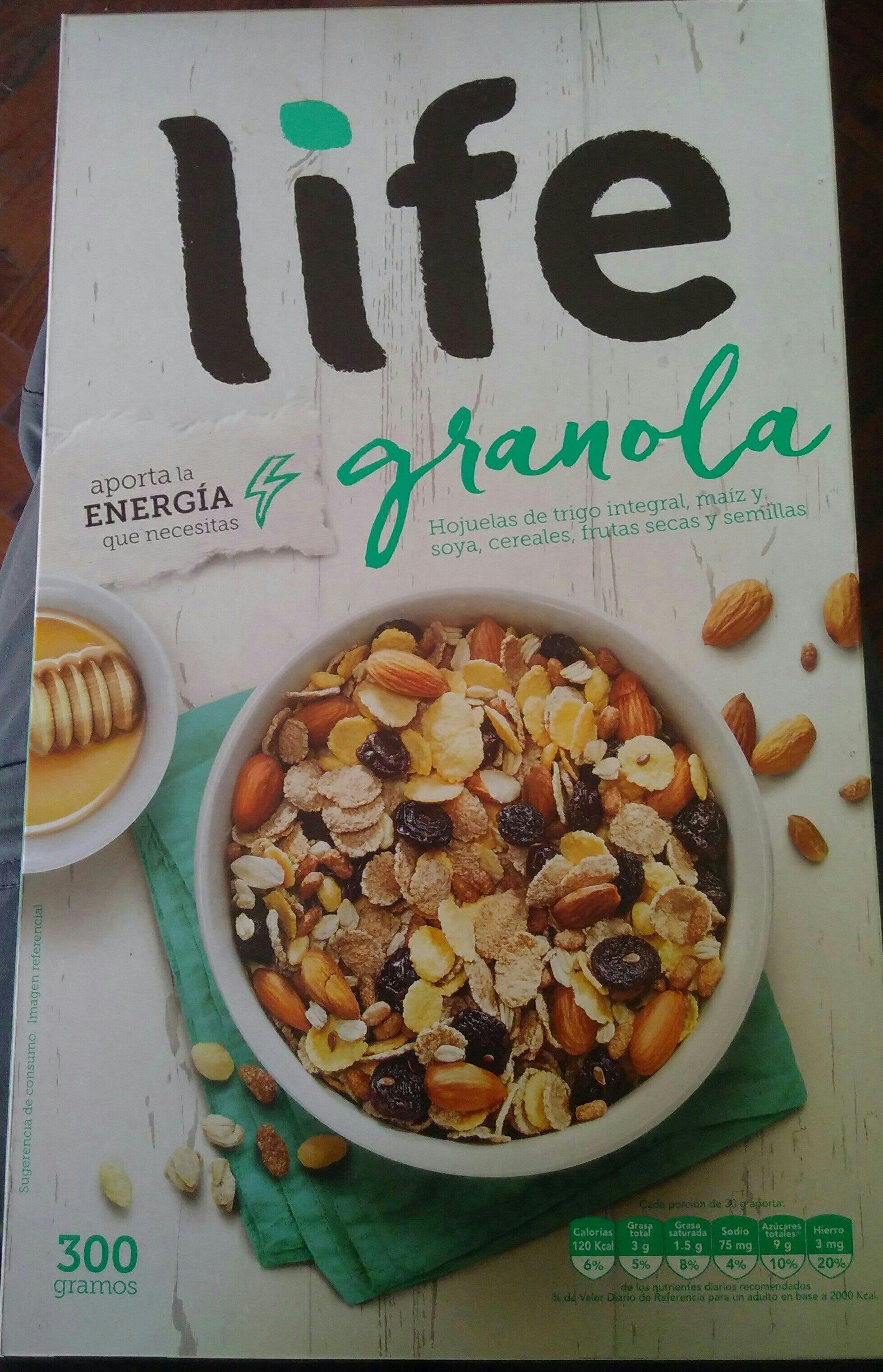 life granola - Produit - en