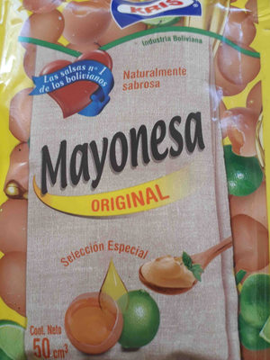 Mayonesa original - Producto