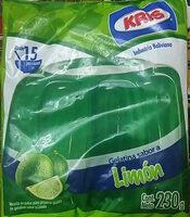 Gelatina Sabor a Limón - Produit - es