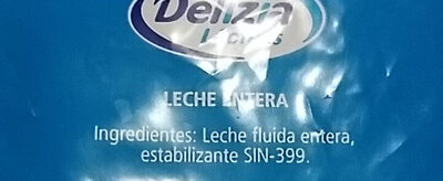 Leche Entera Larga Vida - Ingrédients - es