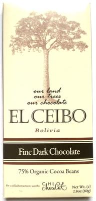 El ceibo, fine dark chocolate - Product