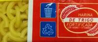 Fideos - Instruction de recyclage et/ou informations d'emballage - es