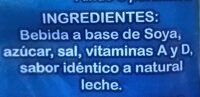 Leche Nordland - Ingredients - es