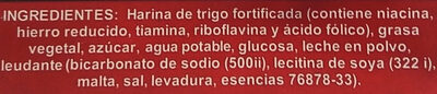 Galletas de agua PANCREK - Ingredients - es