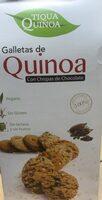 Galletas de quinoa con chispas de chocolate - Producte - es