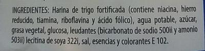 Galletas Jungla - Ingredients