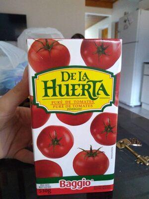 De la Huerta: puré de tomates - Produit