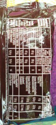 Alfajor Tofi Negro - Nutrition facts - es