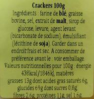 Criollitas (original) - Ingrediënten
