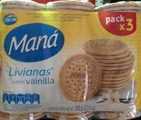 Maná Livianas Vainilla - Produit - es