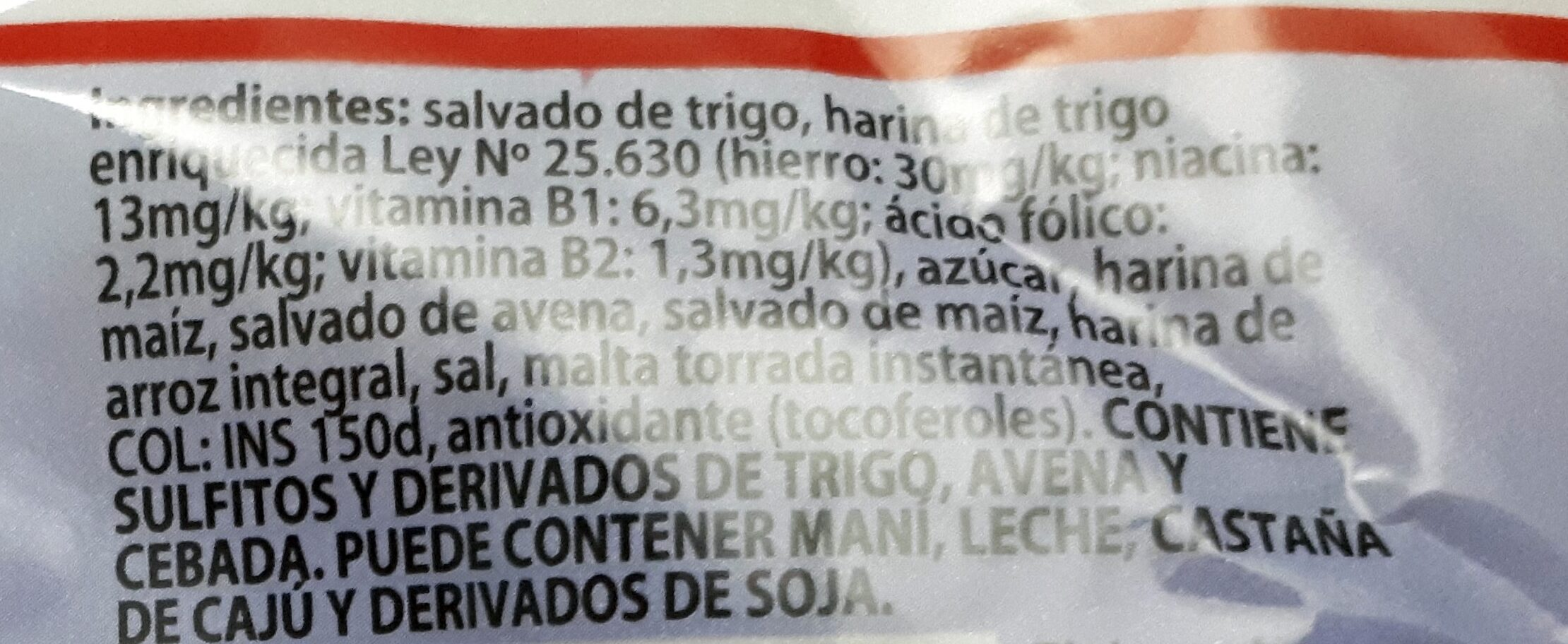 Fibra Total 4 Fibras - Ingredients - es