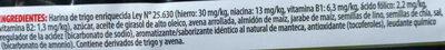 Frutigran Semillas (Avena, Chía, Lino) - Ingredientes - es