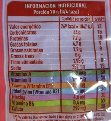 jamón y queso lucchettinis - Produit