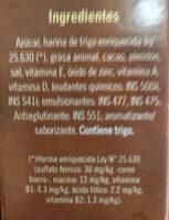 Chocolate alto y esponjoso - Ingredients - es