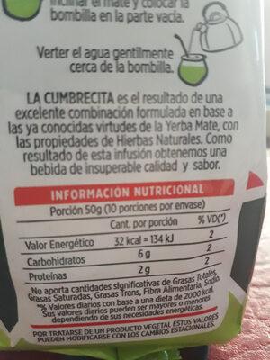 Cumbrecita - Product