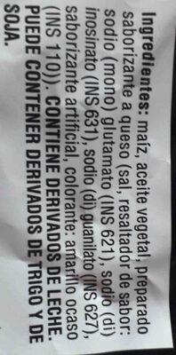 Doritos - Ingredients - en