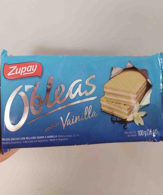 obleas sabor frutilla ZUPAY - Produit - en