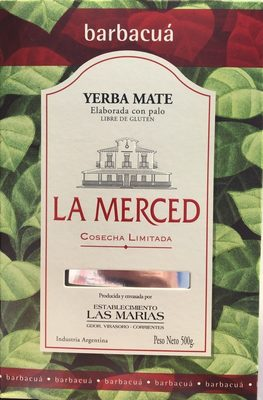 La Merced Barbacua Yerba Mate - Product