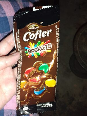 chocolate cofler con rocklets - Ingrédients