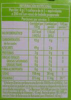 jugo en polvo limonada - Voedingswaarden - es