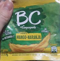 Jugo en polvo sabor mango naranja - Продукт - es