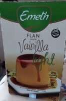 Flan sabor vainilla light - Produit - es