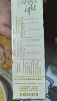Flan sabor vainilla light - Informations nutritionnelles - es