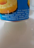 ananas golden smile - المكونات - fr