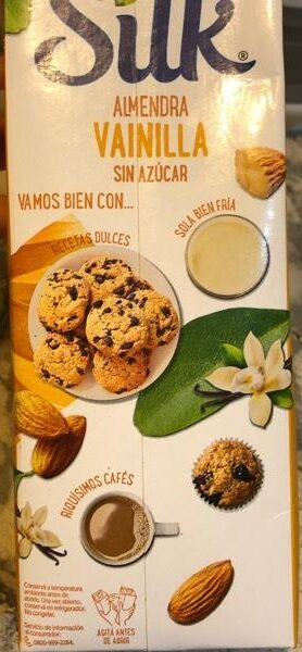 Leche de almendras - Vainilla - Product - es