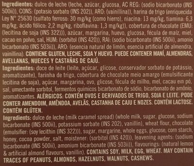 Alfajor de chocolate - Produto - es