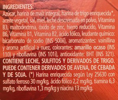 Honey graham - Ingrédients