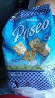 Paseo Mini crackers. Molino Canuelas - Product