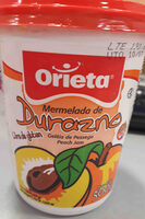 mermelada durazno Orieta - Producto
